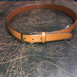 NWT Perry Ellis Size 36 camel colored belt